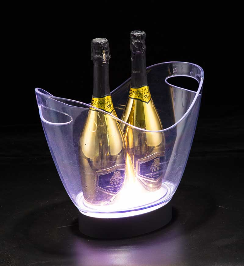 8L Boat Shape LED Ice Bucket