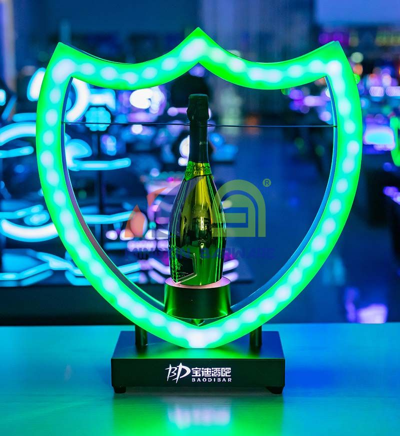 Dome Shape Vip Bottle Presenter