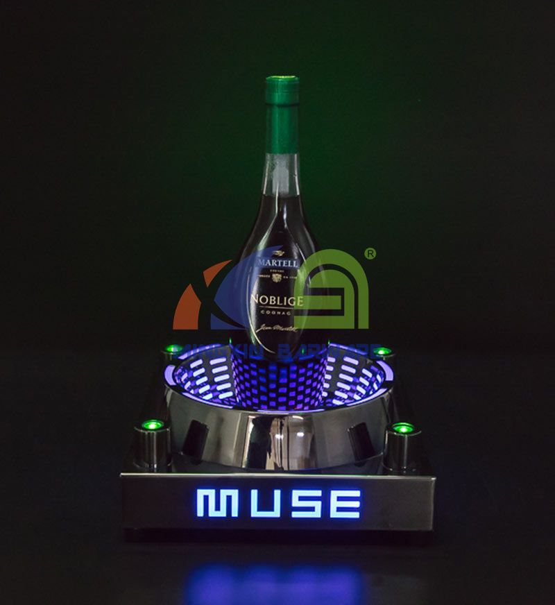 Arena Champagne Bottle Glorifier with Laser Lighting