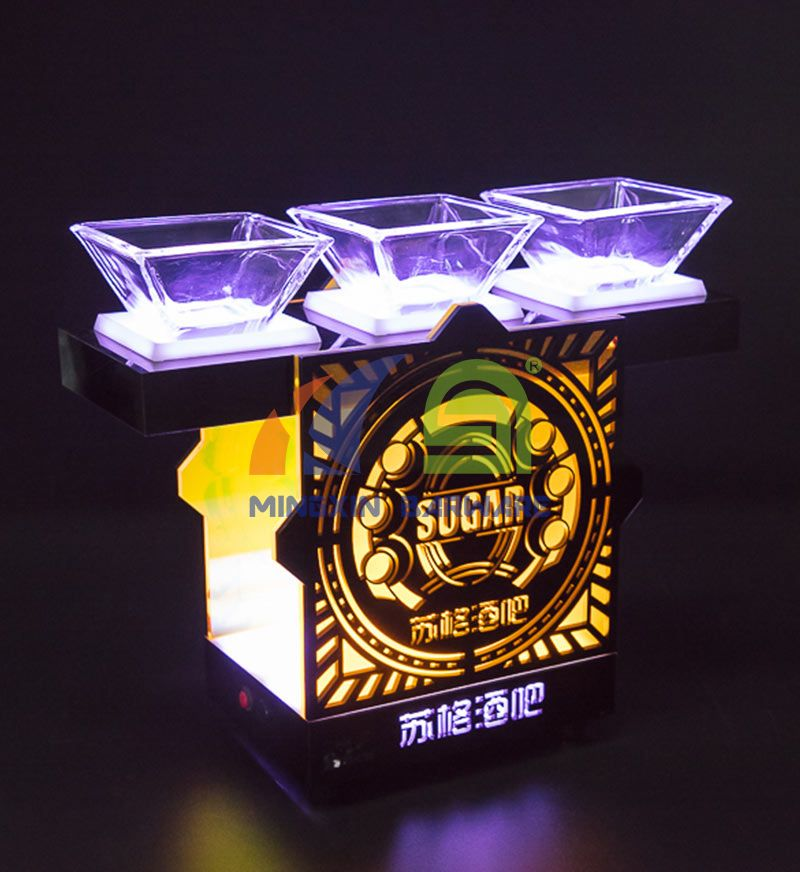 Snack Dish LED Serving Tray
