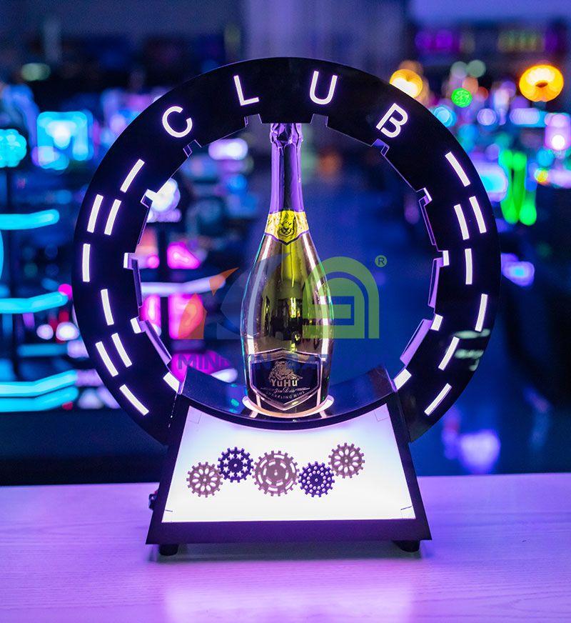 Wheel Rotate Champagne Bottle Glorifier