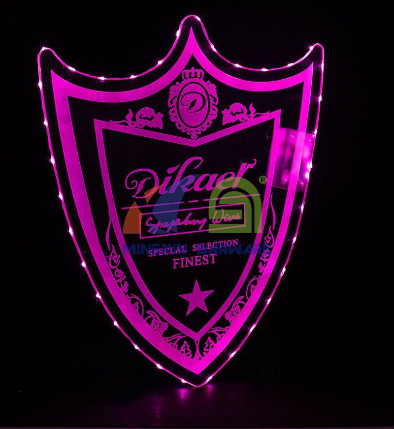 Acrylic Dom P LED Presenter