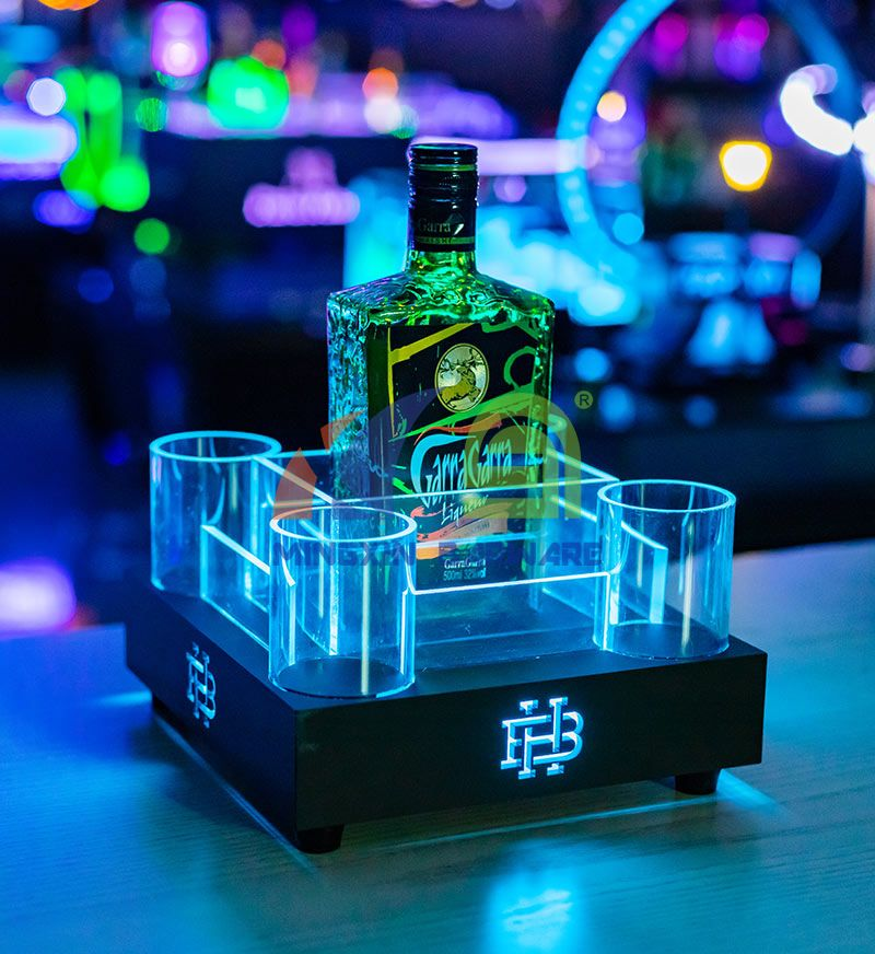 Spirit LED Ice Bucket with Energy Drinks Tray