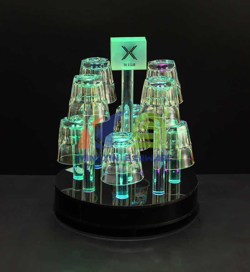8 Headed LED Glass Holder