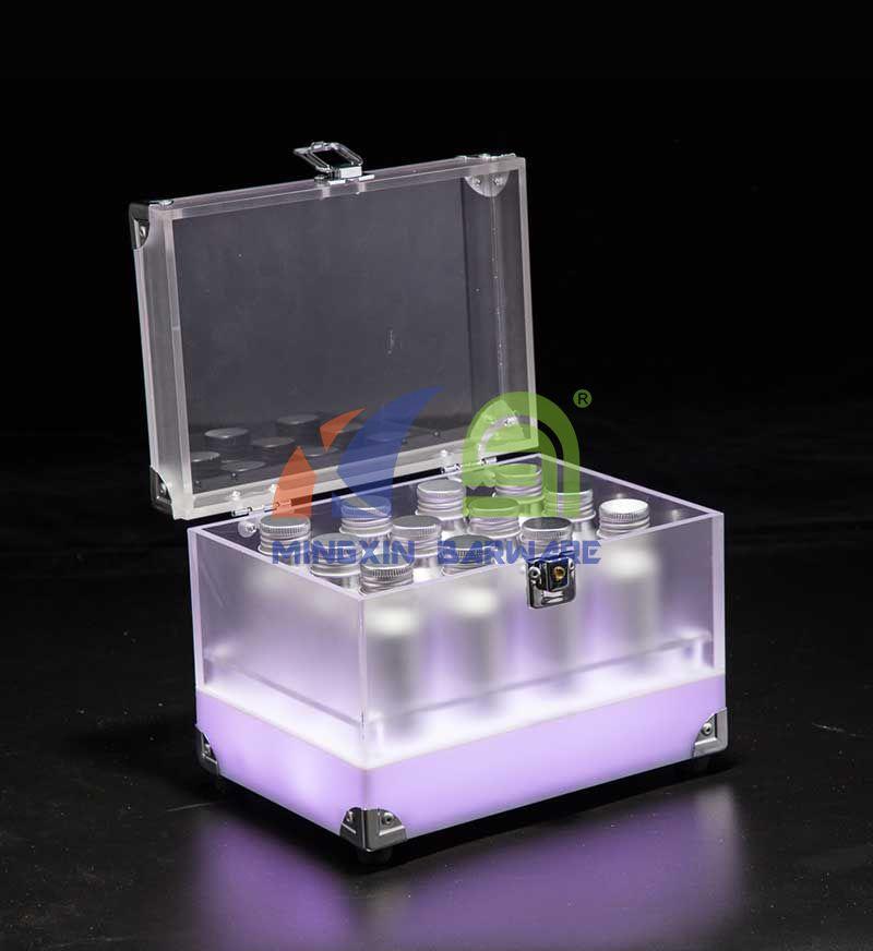 LED Cocktail Bottle Box for 24 bottles