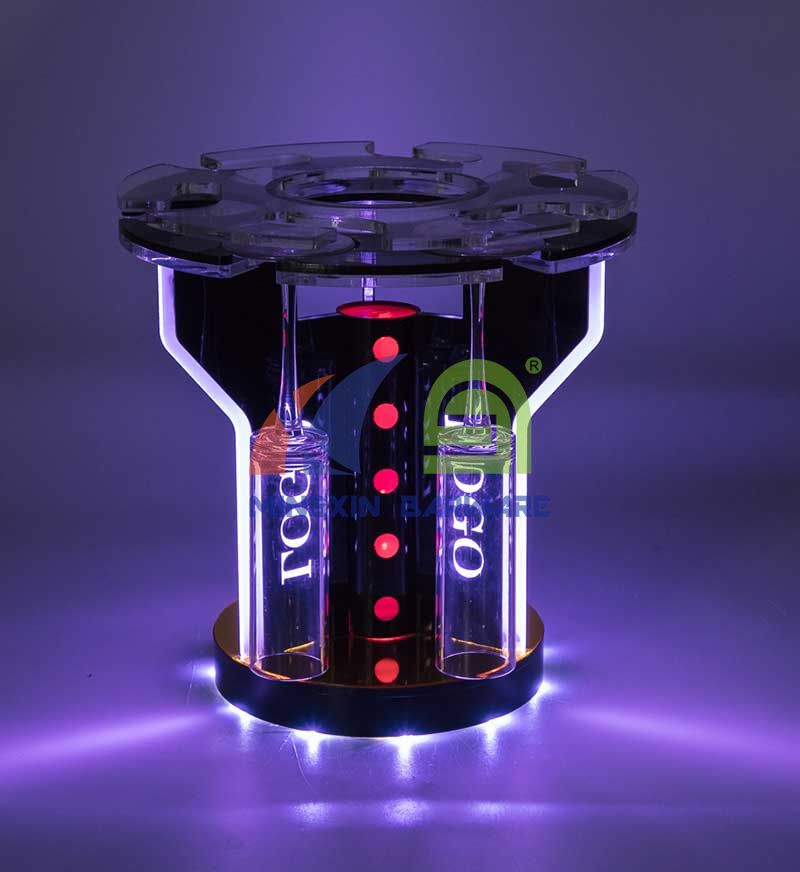 LED Glass Holder for 6 Glasses